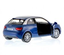"Brand New 5"" Kinsmart 2010 Audi A1 Diecast Model Toy Car Pull Action 1:32- Blue"