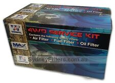 FILTER KIT to suit FORD MAVERICK NISSAN PATROL GQ TD42 AIR OIL FUEL DIESEL 4.2L