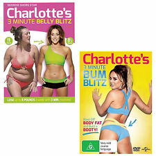 Charlotte Crosby's 3 Minute Belly Blitz & Bum Blitz DVD R4 Geordie Shore Star