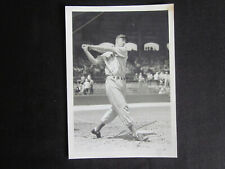 1939 TED WILLIAMS Boston Red Sox Swinging Bat Comiskey Photo by GEORGE BURKE