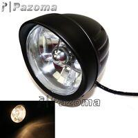 12V Black Motorcycle 4.5'' Front Headlight Headlamp For Harley Softail Sportster
