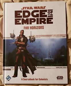 Star Wars: Edge of the Empire: Far Horizons ~ A Sourcebook For Colonists ~ Used
