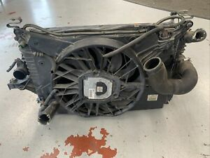 1999-2006 Volvo S80 AC Condenser Radiator Cooling Fan Assembly OEM