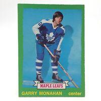 1973 74 OPC O Pee Chee Garry Monahan 226 Toronto Maple Leafs Hockey Card E681