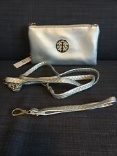 Small Silver Clutch Bag Crossbody Handbag Shoulder Wallet Coin Purse