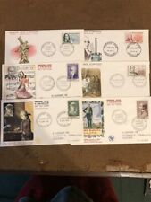 FRANCE; 1950s-60s early FDC First Day Covers fine LOT of 30+ COVERS
