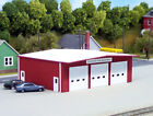 Pikestuff 541-0192 Fire Station RED HO Building Kit HH