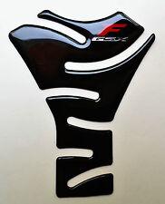 Suzuki GSX-750F GSXF 650F GSX1250F Glossy Black Tank Protector Pad Sticker