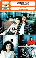 FICHE CINEMA : MYSTERY TRAIN - Nagase,Kudô,Jarmusch 1989