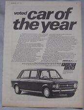 1970 Fiat 128 Original advert