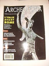 Archéologia N°299 Etrusques Campaniens Ombriens Messapiens Sclayn Pagodes Corée
