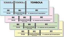 TOMBOLA Carnet ASSORTIE de 100 tickets 3 souches détachables numerotées KERMESSE