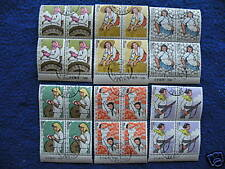 P.R.China 1964 Sc#750-5 Imprint Block of 4 CTO OG NH VF
