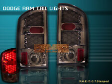 2002-2006 DODGE RAM 1500 2500 3500 TAIL LIGHTS SMOKE LED 2003 2004 2005