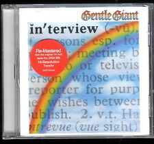 GENTLE GIANT INTERVIEW ( IN'TERVIEW )  CD  7 TITRES  re-mastered