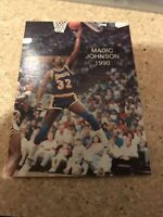 1990 Magic Johnson Wasatch ALL-STAR #5 NMMT Los Angeles Lakers Basketball Card