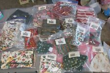 New ListingNew Longaberger Lot Of 16 Fabric Liners For Baskets Christmas Autumn Floral