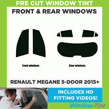 Pre Cut Window Tint - Renault Megane 5-door Hatchback 2015 Full Kit
