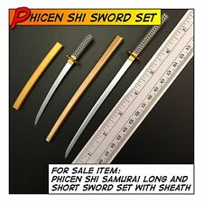 PHICEN Shi Hot Samurai Sowrds Set Weapon for 1/6 12 in scale Action Figures Toys