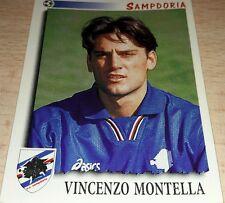 FIGURINA CALCIATORI PANINI 1997/98 SAMPDORIA MONTELLA ALBUM 1998