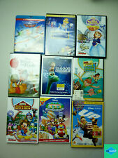 Lot - 9 Disney Blu-Ray & DVD's - Cinderella, Sofia, UP, Winnie the Pooh, Planes