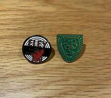ELEY Enamel Tie Pin Badges - Pair