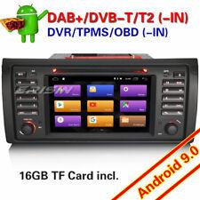 Android 8.1 DAB Autorradios DVD GPS radio para BMW 5er E39 E53 X5 4G WiFi Canbus