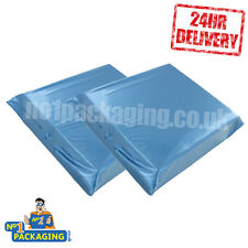 "100 BIG 12"" x 16"" Large Blue Mail Mailing Post Packing Bags sacks parcel packing"