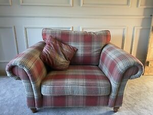 Next Gosford Snuggle Chair Stirling Check
