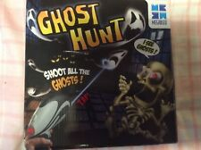 GHOST HUNT Game by Megableu Shoot Down Ghost Electronic Projector & Gun Complete