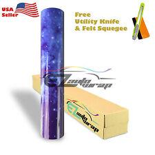 "*24""x60"" Gloss Stardust Galaxy Vinyl Sticker Printed Graphic Decal Wallpaper S15"