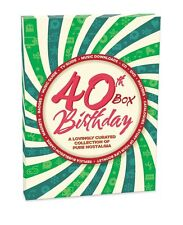40th Birthday Box  Story of Your Life DVD,Pop CD,Download,Booklet and Retro Item