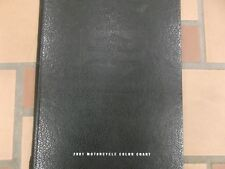 2001 Harley Davidson Road King Electra Glide Ultra Classic Color Chart Book