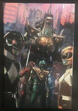 Mighty Morphin Power Rangers #4 1:50 Retailer Incentive 2016 Boom Variant Comic