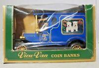 STEVELYN & CO - VIEW VAN COIN BANKS - PDSA - DIECAST MONEY BOX