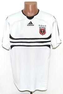 D.C. UNITED MLS 2006/2007 AWAY FOOTBALL SHIRT JERSEY ADIDAS SIZE L ADULT