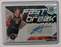 2019-20 Panini Mosaic Disco Fast Break Prizm Nikola Jokic Auto SSP Nuggets HOT!