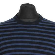 BEN SHERMAN Striped Sweater   Jumper Sweatshirt Knit Patterned Retro Vintage