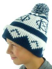 O'Neill Pompom Hat Winter Hat Beanie Billboard Blau Norwegian Pattern