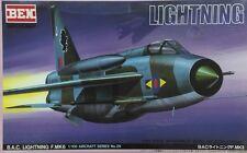 BEN HOBBY 1/100 B.A.C Lightning F.MK6 Supersonic Fighter (RARE) - BEN-A29
