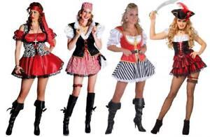 Pirat Piratenkostüm Kostüm Kleid Damen Seeräuber Freibeuter Piratin Piratenbraut