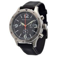 Messerschmitt Cuarzo Cronógrafo Aristo 5atm Reloj PILOTOS Modelo 5031l