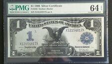 1899 $1 SILVER CERTIFICATES CUT SHEET OF 4 BLACK EAGLES!!