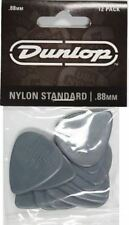 Jim Dunlop Nylon Standard Guitar Picks 12 Pack - .88mm