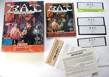 BAT PC Game IBM 5 1/4 Ubisoft Role Playing Adventure RPG