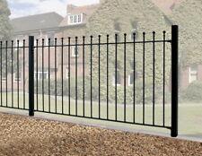 Malaca Ball Top Fence Panel 1830mm GAP x 1220mm H galvanised metal railing