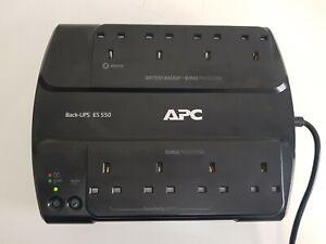 APC Backup UPS ES 550 Surge Protection Uninterruptible Power Supply BE550G-UK