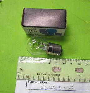 Rickman NOS 125 MX  Six Day 250 Montesa 6v 18 w Flasher Bulb p/n R025 05 032