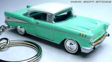 VERY! RARE!! KEY CHAIN RING 57~1957 MINT GREEN WHITE CHEVY BEL AIR CHEVROLET NEW