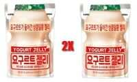 2x Korean LOTTE YOGURT JELLY PROBIOTIC GUMMY SNACK MILK Candy Supplement Gummi